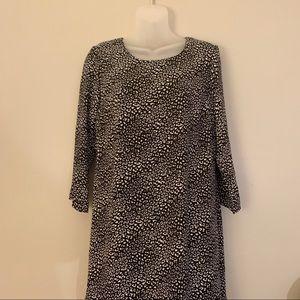 NWT Peyton Jensen Inez Leopard Print Shift Dress